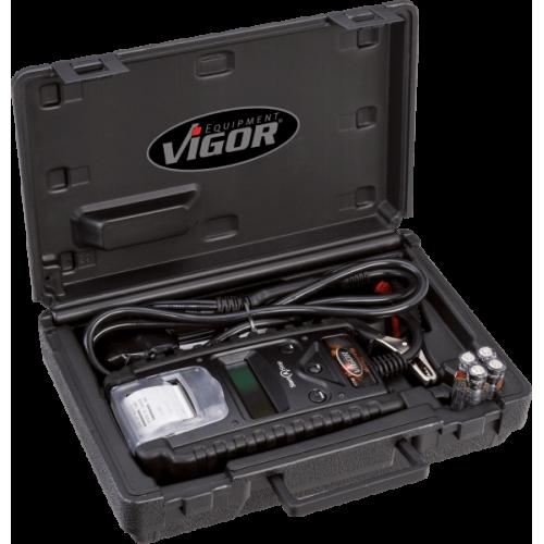 Тестер аккумуляторных батарей и системы зарядки с термопринтером