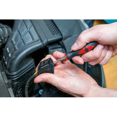 Набор инструмента для разборки электрических разъемов
