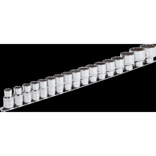 Привод - внутренний квадрат 12,5 = 1/2 дюйм Набор торцевых ключей с мультипрофилем